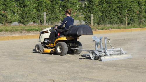 1.5m Rake With Ride On Mower