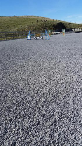 Rubber Sand Surface After